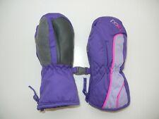 HEAD Bright Purple/Pink Warm WINTER MITTENS Gloves Baby Toddler Kid Sz YOUTH XXS