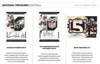 2016 NATIONAL TREASURES FOOTBALL LIVE RANDOM PLAYER 1 BOX BREAK #2