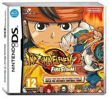 Inazuma Eleven 2: FIRESTORM (Nintendo DS DSi) BRAND NEW FREE SHIPPING
