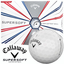 CALLAWAY 2019 SUPERSOFT WHITE GOLF BALLS DOZEN PACKS / MULTIBUY DISCOUNT DEALS