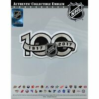 National Hockey League NHL 100th Anniversary Jersey Sleeve Logo Patch 2017 Seaso