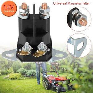 Rasenmäher Rasentraktor Aufsitzmäher Magnetschalter Anlasserrelais 4-Polig