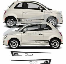 AUTOCOLLANT BANDE STICKERS 3M X15cm FIAT 500 MINI COOPER S SMART SWIFT COCCINELL