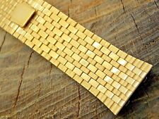 Vintage Base Metal Watch Band 24mm Straight End Deployment Pre-Owned Mens
