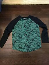 GYMBOREE Shirt Long Sleeve Boys M (7-8) sneakers