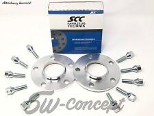 40mm 2x20mm Spurverbreiterung SCC MINI 5x112 66,6 F + Radschrauben Spurplatten