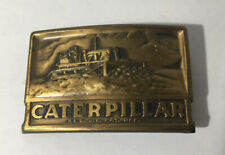 VINTAGE Caterpillar Belt Buckle Reg Pat Off CAT Machinery Farm