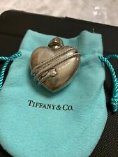 Sterling Silver Perfume Bottle. Rare Find. Tiffany & Co Collectible Heart Arrow