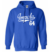 Impala 64 Script & Tail HOODIE - Hooded 1964 Lowrider Sweatshirt - All Colors