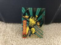 1994 Marvel Universe Suspended Animation card of WOLVERINE 10 Of 10