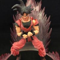16CM DragonBall Z SHF Super Saiyan Son Goku Pvc Movable Action figure Toy In box