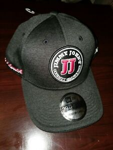 New Era 39THIRTY Jimmy John's Kevin Harvick #4 Charcoal Grey Cap Size M/L NEW!