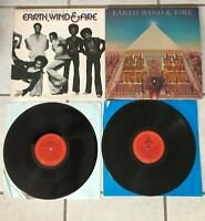 EARTH WIND & FIRE Pre-Owned 2 Pack LP's: ALL N' ALL-THAT'S THE WAY OF THE WORLD