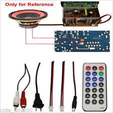 Car Subwoofer Hi-Fi Bass Power Amplifier Board Tf Usb 12V/24V/220V Bluetooth 30W