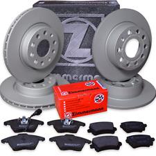 Audi A6 2,0 TDI Avant (4G5, C7, 4G) Zimmermann Bremsen Set Bremsscheiben Beläge