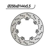 DISCO FRENO ANT. NG 203 85/87 HONDA XL RM/LM (PD04) 600 65.9203 256-166-144-5,5-