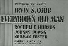 EVERYBODY'S OLD MAN (1936) DVD IRVIN S. COBB, ROCHELLE HUDSON