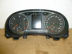 Instrument Cluster Audi a1 8xa920930b Tacho Tachometer Cluster Clock Speedometer