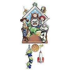 Bradford Exchange Disney Pixar Toy Story Hand-Painted Cuckoo Clock Plays Music