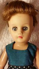 """1950's Nancy Ann Fashion Doll 10"""" LMR Friend. Light brown hair & green eyes."""