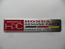 HONDA-alu -- 3d Autocollant, Sticker, Emblème, Logo, badge, parts, HRC, HDC