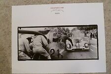1971 Porsche 917 Coupe 1000 KM Spa Museum Showroom Advertising Poster RARE L@@K