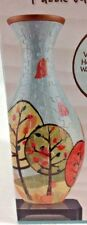 Kids 3D Puzzle Vase Age 8 up 160 piece Autumn Trees HOLDS WATER Art Craft Projec