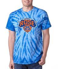 "Tie Dye Derrick Rose New York Knicks ""Logo"" jersey T-shirt"