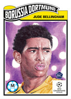 Topps UCL Living Set 2020/21 Jude Bellingham BVB Rookie Card RC  # 234
