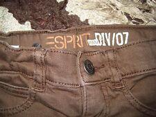 ♥ Esprit ♥ coole & gepflegte Jeans Hose Skinny slim braun Gr. 104 wenig getragen
