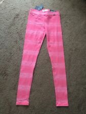NWT Abercrombie & Fitch Pink High Rise Legging Size XS
