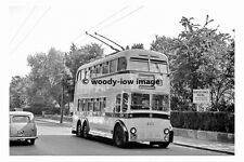 pt7788 - Bournemouth Trolleybus to Westbourne - photograph 6x4