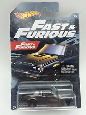 Hot Wheels Fast and Furious Buick Grand National Black 1 of 6 Cars FREE SHIPPING