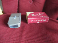 VINTAGE MICKY SLIDE VIEWER IN ORIGINAL BOX KARATSU CAMERA SHOP