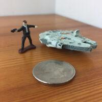 M39 MICRO MACHINES LOOSE LOT Galoob STAR WARS : Rare Box set HAN SOLO Falcon