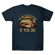 It'd Be A Lot Cooler If You Did Funny Vintage Men's Cotton Short Sleeve T-Shirt