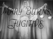 MARY BURNS, FUGITIVE 1935 Sylvia Sidney, Melvyn Douglas