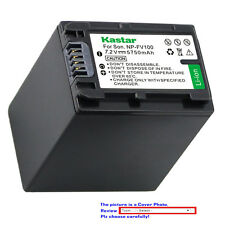 Kastar Replacement Battery for Sony NP-FV100 & Sony DCR-SX15 DCR-SX20 DCR-SX21
