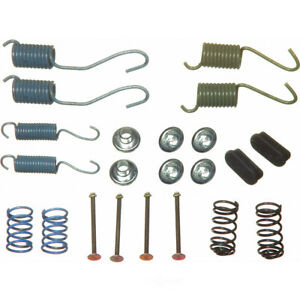 Drum Brake Hardware Kit Rear Wagner H7059