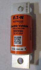 NEW EATON BUSSMANN EV30-400-AG 400A ELECTRIC VEHICLE/ HYBRID FUSE 500VDC 30mm