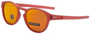 Oakley Latch Sunglasses OO9265-2553 Ir Red   Prizm Ruby Lens   BNIB