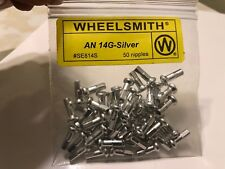 Wheelsmith Silver Spoke NIPPLES Alloy 14-12mm Bike Bicycle NEW