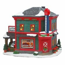 "NEW! St. Nicholas Square Christmas Village FARMER""S MARKET fruit stand retired"