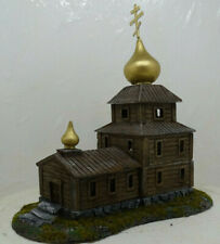 Russian Orthodox Rural Church. 15mm.1:100 Scale. hand cast resin