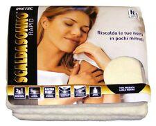 ScaldaSonno Imetec 16277 lana merino mod. Rapid matrimoniale con electro block