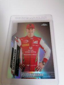 Topps Chrome Formula 1 Mick Schumacher Rookie Future Stars #53 F1 Card