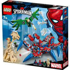 Lego Super Heroes Spider-Man's Spider Crawler Building Set - 76114 - NEW