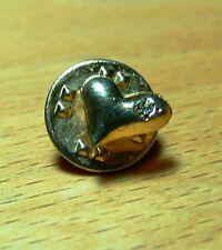 Pin: kleines Herz mit Swarovskistein vergoldet