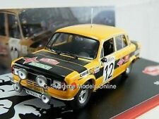 SEAT 124D S 1800 1977 RALLY CAR ZANINI 1/43RD YELLOW/BLACK VERSION R0154X ^**^