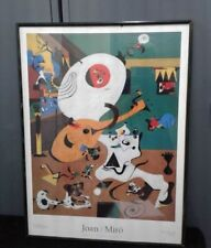 "Art Joan Miro "" Dutch Interior l, 1928 "" Museum Poster 24.5' x 33.5"""